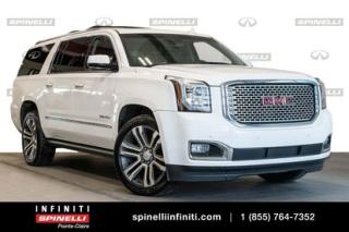 Used 2017 GMC Yukon Denali/heads Up for sale in Montréal, QC