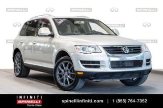 Used 2009 Volkswagen Touareg | VR6 | CUIR | TOIT | MAGS | BAS KM |***** VENDU TEL QUEL for sale in Montréal, QC