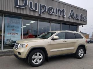 Used 2011 Jeep Grand Cherokee 4 RM 4 portes Laredo for sale in Alma, QC