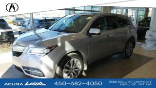 Used 2016 Acura MDX Navigation SH-AWD for sale in Laval, QC