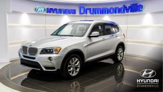 Used 2011 BMW X3 XDRIVE 28I + GARANTIE + NAVI + TOIT PANO for sale in Drummondville, QC