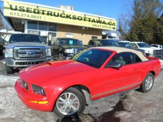 Used 2007 Ford Mustang V6 2Dr Convertible Low KM for sale in Ottawa, ON