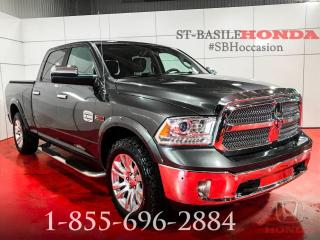 Used 2015 RAM 1500 LONG HORN+ ECO DIESEL+ CREW+ WOW for sale in St-Basile-le-Grand, QC