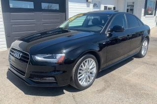 Used 2016 Audi A4 S Line  QUATTRO for sale in Kingston, ON