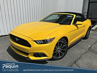 Used 2017 Ford Mustang EcoBoost for sale in Rouyn-Noranda, QC