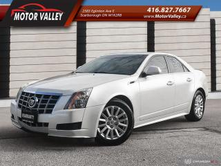 Used 2013 Cadillac CTS 3.0L AWD Navigation No Accident Mint! for sale in Scarborough, ON