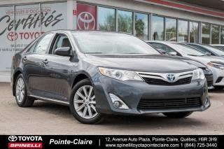 Used 2014 Toyota Camry Hybride Xle Cuir, Toit for sale in Pointe-Claire, QC