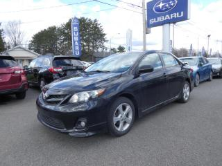 Used 2012 Toyota Corolla Berline 4 portes, boîte manuelle, S for sale in Victoriaville, QC