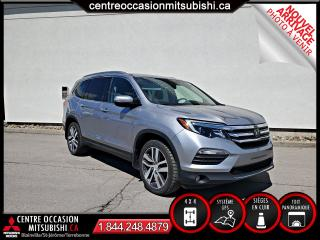 Used 2017 Honda Pilot TOURING 4X4 CUIR + TOIT PANO + FULL LOAD for sale in Blainville, QC