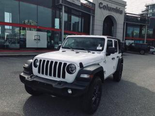 New 2019 Jeep Wrangler Unlimited Unlimited Sport S for sale in Richmond, BC