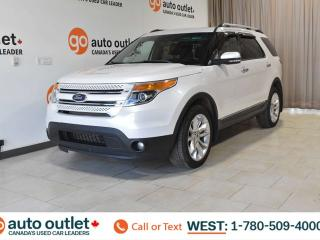 Used 2011 Ford Explorer LIMITED, 4WD, POWER WINDOWS & SEATS, HEATED SEATS, STEERING WHEEL CONTROLS, CRUISE CONTROL, A/C, AM/FM RADIO, SATELLITE RADIO, NAVIGATION, SUNROOF/MOONROOF for sale in Edmonton, AB