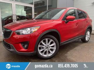 Used 2015 Mazda CX-5 GT TECH LEATHER SUNROOF NAV for sale in Edmonton, AB