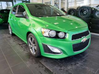 Used 2015 Chevrolet Sonic RS, HEATED SEATS, REAR VIEW CAMERA, SUNROOF for sale in Edmonton, AB