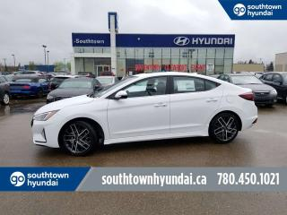 New 2019 Hyundai Elantra Sport - 1.6T 201 HP Turbo/Leather/Back up Camera for sale in Edmonton, AB