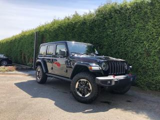 New 2019 Jeep Wrangler Unlimited Rubicon 4dr 4WD Sport Utility for sale in Surrey, BC