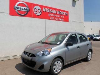 Used 2015 Nissan Micra S for sale in Edmonton, AB