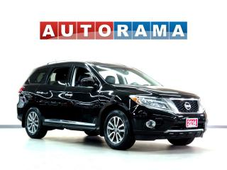 Used 2014 Nissan Pathfinder PLATINUM PKG NAVIGATION LEATHER SUNROOF DVD 7PASS for sale in Toronto, ON