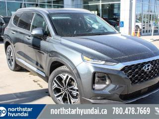 New 2019 Hyundai Santa Fe Ultimate: 8 TOUCH SCREEN NAV SYSTEM,BLUELINK,INFINITY PREMIUM AUDIO,LEATHER SEATING SURFACE for sale in Edmonton, AB