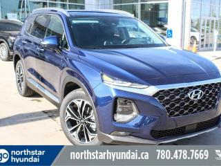 Used 2019 Hyundai Santa Fe Ultimate: 8 TOUCH SCREEN NAV SYSTEM,BLUELINK,INFINITY PREMIUM AUDIO,LEATHER SEATING SURFACE for sale in Edmonton, AB