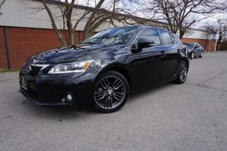 Used 2013 Lexus CT 200h TECH PACKAGE / LOADED / LOCALLY OWNED for sale in Etobicoke, ON