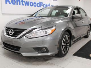 Used 2018 Nissan Altima SV FWD, sunroof, heated power leather seats, back up cam for sale in Edmonton, AB