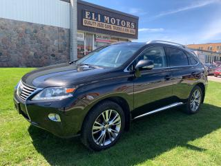 Used 2013 Lexus RX 450h ULTRA PREMIUM.NAVI.REAR VIEW CAMERA.BLUETOOTH. for sale in North York, ON