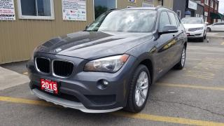 Used 2015 BMW X1 AWD-1 OWNER OFF LEASE-PREMIUM PKG-SUNROOF-LEATHER for sale in Tilbury, ON