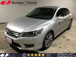 Used 2015 Honda Accord Sport| Backup Cam, Sunroof, Tint! for sale in Woodbridge, ON