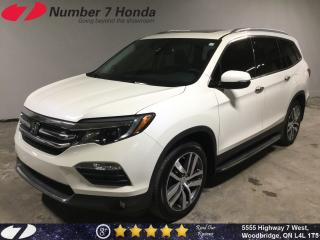 Used 2017 Honda Pilot Touring| Loaded, Leather, Navi, DVD! for sale in Woodbridge, ON