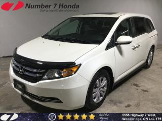 Used 2016 Honda Odyssey EX-L| Leather, Backup Cam, DVD! for sale in Woodbridge, ON