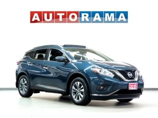 Used 2015 Nissan Murano SV AWD Navigation Leather Sunroof Backup Cam for sale in Toronto, ON