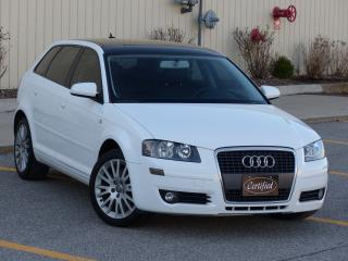Used 2008 Audi A3 2.0T, LEATHER, LOW KMS, ALLOY WHEELS, FOG LIGHTS for sale in Mississauga, ON