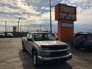 Used 2006 Chevrolet Colorado LT Z85**4 CYLINDER**MANUAL**DRIVES GREAT**AS IS for sale in London, ON