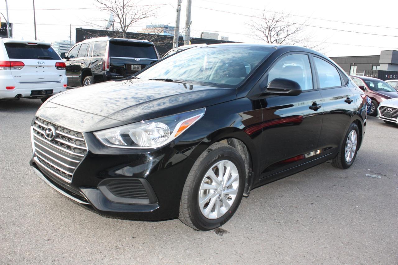 Photo of Black 2018 Hyundai Accent