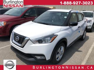 New 2019 Nissan Kicks S for sale in Burlington, ON