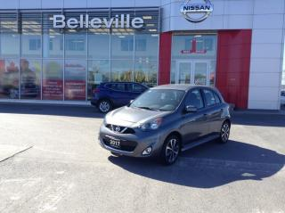 Used 2017 Nissan Micra SR AUTO WITH EXTENDED WARRANTY for sale in Belleville, ON