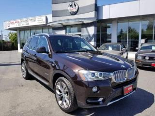 Used 2016 BMW X3 xDrive 35i TURBO AWD LEATHER NAVI REAR CAMERA SUNR for sale in Langley, BC