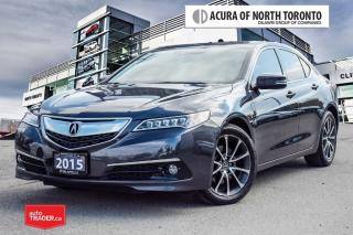 Used 2015 Acura TLX 3.5L SH-AWD w/Elite Pkg No Accident| Remote Start for sale in Thornhill, ON