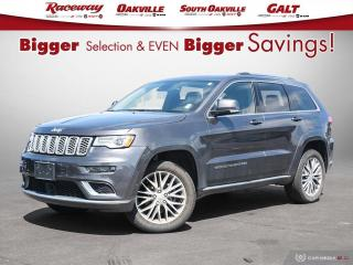 Used 2018 Jeep Grand Cherokee Summit - DEMO ! Nav, Htd and Vented Seats, REDUCED for sale in Etobicoke, ON