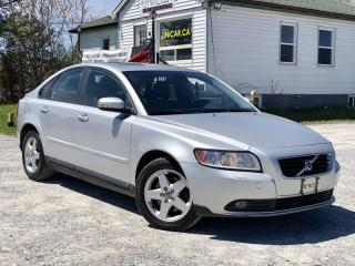 Used 2010 Volvo S40 No-Accidents 2.4L FWD Bluetooth Sunroof Heated Seats for sale in Sutton, ON