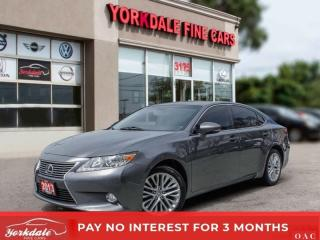 Used 2013 Lexus ES 350 ULTRA PREMIUM PKG NAVI PAN SUNROOF BACK UP CAM WOOD TRIM for sale in Toronto, ON
