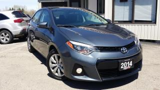 Used 2014 Toyota Corolla S 2014 TOYOTA COROLLA S - BACK-UP CAM! HTD SEATS! FOG LIGHTS! for sale in Kitchener, ON