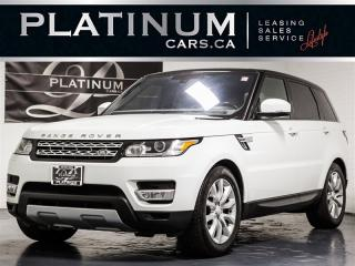 Used 2016 Land Rover Range Rover Sport HSE Td6, NAVI, PANO, CAM, Heated Cooled Seats for sale in Toronto, ON