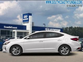 New 2019 Hyundai Elantra Preferred  AT  - Heated Seats - $125.94 B/W for sale in Simcoe, ON