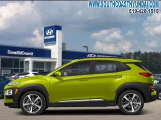 New 2019 Hyundai KONA 1.6T Ultimate AWD w/Lime Colour Pack  - $196.19 B/W for sale in Simcoe, ON