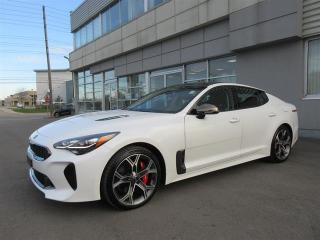 Used 2018 Kia Stinger GT GT DEMO/AWD/Leather/Roof/Android Auto Apple CarPlay/Camera/full power package for sale in Mississauga, ON