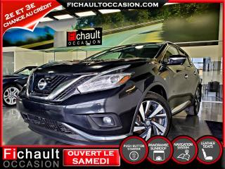 Used 2015 Nissan Murano PLATINIUM*** PNEUS HIVER INCLUS*** for sale in Châteauguay, QC