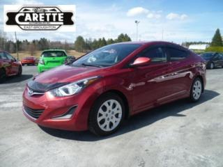 Used 2014 Hyundai Elantra GL for sale in East broughton, QC