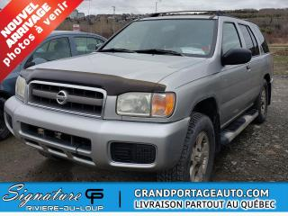Used 2003 Nissan Pathfinder Édition Chilkoot 4x4 MANUELLE V6 for sale in Rivière-Du-Loup, QC