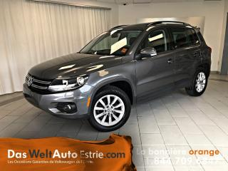 Used 2015 Volkswagen Tiguan 4motion, Comfort for sale in Sherbrooke, QC